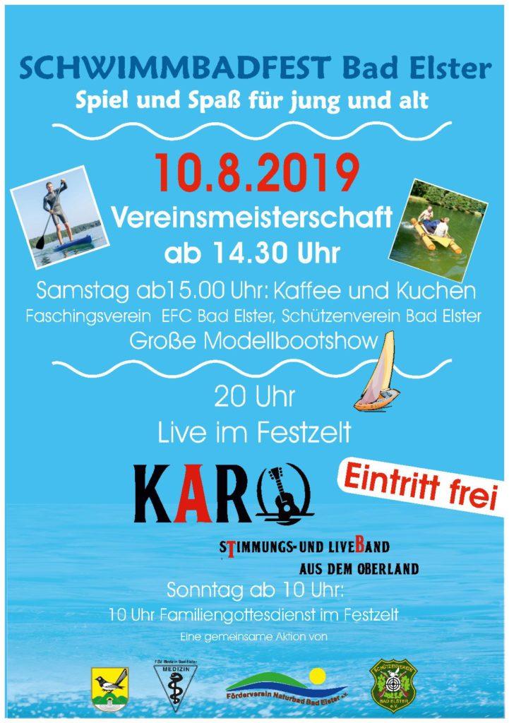 Schwimmbadfest 2019
